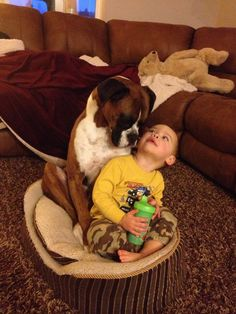 Boxers and Kids are a perfect match!
