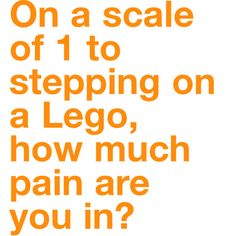 New Pain Scale