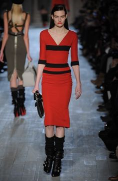 Victoria Beckham – 2012 Autumn/ Winter Collection New York Fashion Week.
