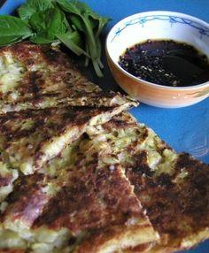 Korean Style Corn Pancakes