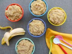 Banana Quinoa Rice Pudding on Weelicious