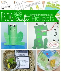 Activities for Kids 42 Frog Craft Projects
