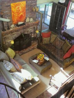 Eclectic Family Room Design, Pictures, Remodel, Decor and Ideas - page 7
