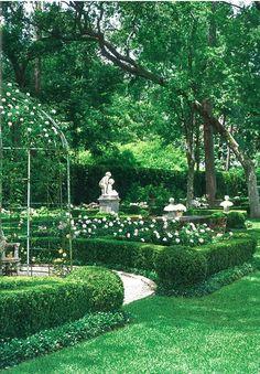 landscaping on Pinterest Formal Gardens Backyard
