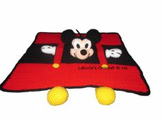 Instant PDF Pattern Crochet Mickey Mouse by Lauriescrochetrus, $6.00