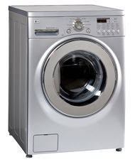 LG Washer Dryer Combo WM3431HS  24wX25dX33h, 163#
