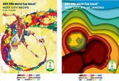 Host cities unveil official World Cup posters | Brazilian Government website on the 2014 FIFA World Cup