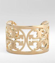 Tory Burch Cuff @Chadwick Kanney ..the new lucky bracelet??