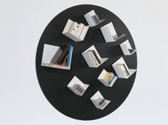 metal bookcase by MAGNETIC SPIRIT
