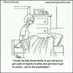 School Psychology humor.  It's funny because it's true.
