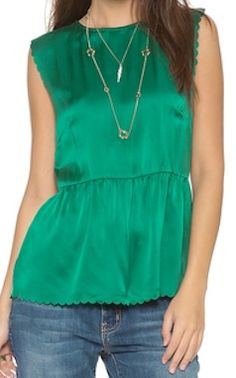 scallop peplum top  http://rstyle.me/n/fy3w4pdpe