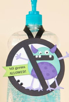 Start the school year off right and encourage the kids to nip the germs now! Check out this cool No Germs Allowed craft.
