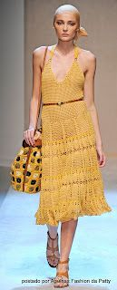 Agulhas Fashion da Patty: Vestidos