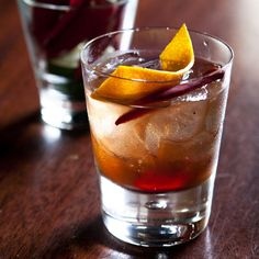 Spiced Old Fashioned, tequila
