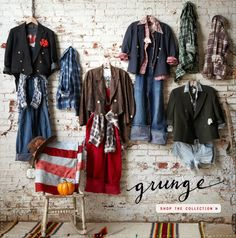 Our Newest Vintage Collection- Grunge #freepeople #vintage #grunge