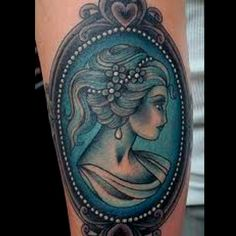 Cameo tattoo!! Want SO bad!