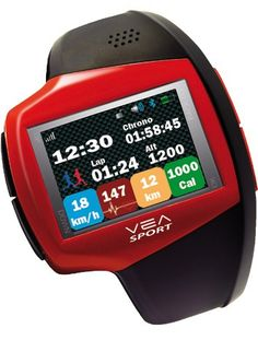 VEA's Sportive mobile watch is for those with money, calories to burn