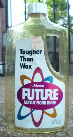 I remember my poor mother moving the table and chairs out of the kitchen and having to wax the floor, wait for it to dry, and then put all the furniture back in the kitchen.  My, how times have changed!!  And I can still remember the smell of this too!