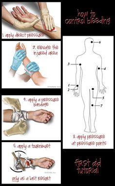Emergency Preparedness site: first aid