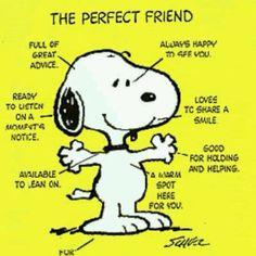 Snoopy is always My best friend  (⌒▽⌒)