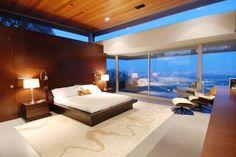 A nice open space room with a gorgeous view too.    Source: viahouse.com