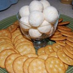 Art Thanksgiving Cheese Ball food-and-drink