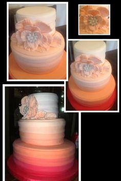 35 Year Wedding Anniversary #Cake