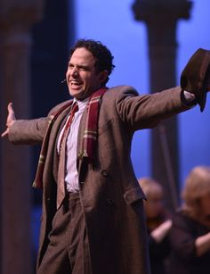 "Santino Fontana at ""Caramoor Festival"" performing in ""She Loves Me,"" the musical that changed my life"