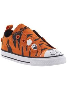 Converse Chuck Taylor All Star Army Simple Slip (Infant/Toddler): $30 #Sneakers #Kids #Tiger #Converse