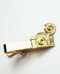 Camera Tie Clip. I would wear ties just so I could wear this clip