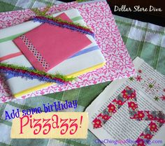 The Dollar Store Diva: Add Some Dollar Store Birthday Pizzazz!