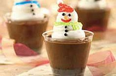 Snowman Cups Recipe
