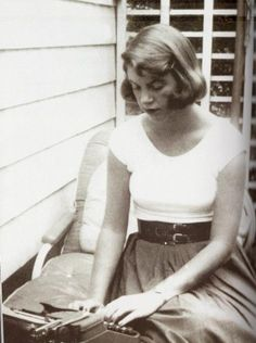 """I love life. But it is hard, and I have so much – so very much to learn."" Sylvia Plath"