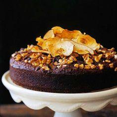 Chocolate-Pear Spice Cake