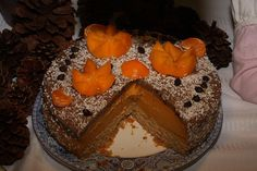 Vegan Apricot Pumpkin cheesecake and dark chocolate by VEGANLOTUS, $30.00