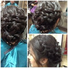 Nice braided Updo by Hairsbychristine