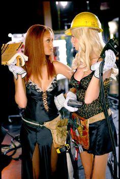 Heidi Klum and Tyra Banks