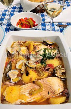 Fish stew. Caldeirada de Peixe, Portugal