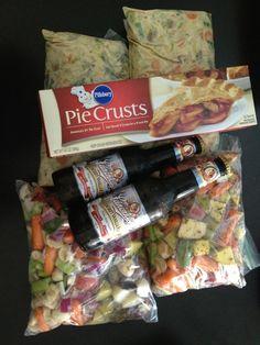gift baskets, make ahead meals, crock pots, crock pot beef, freezer meals