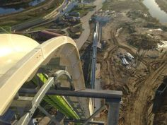 """People I Want to Punch in the Throat: The Verruckt - the world's tallest waterslide translates into: """"Oh, hell no!"""""""