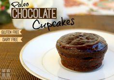 paleo chocolate cupcakes #paleo #cupcakes #glutenfree #dairyfree #chocolate