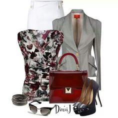 Loving the blouse!