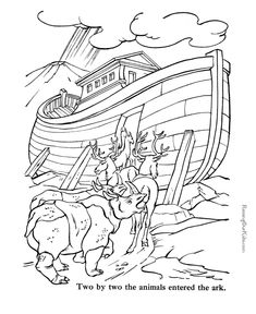 Free Bible coloring pages to print