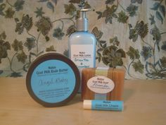 Handmade goat milk products that make my skin feel great!
