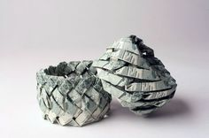 Jewelry made by folding paper money. These bracelets are made of US dollar bills! Quite amazing!