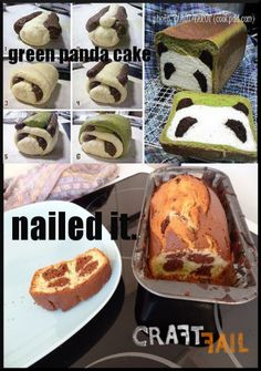 Green Panda Cake Nailed It