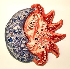 Opposites Attract Wall Sculpture by patriciasrigley on Etsy, $85.00