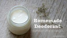 DIY: deodorant
