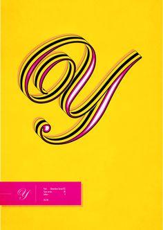 Typographic Illustrations..