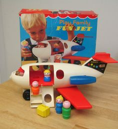 Vintage Fisher Price airplane